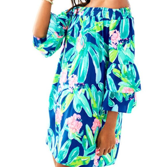 5789c77c92bb0 Lilly Pulitzer Dresses & Skirts - Lilly Pulitzer Tobyn Dress - Island Exotic
